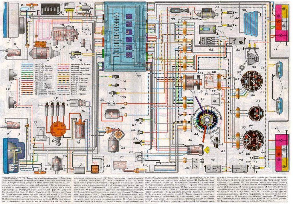 2105 elektromos kapcsolási rajz