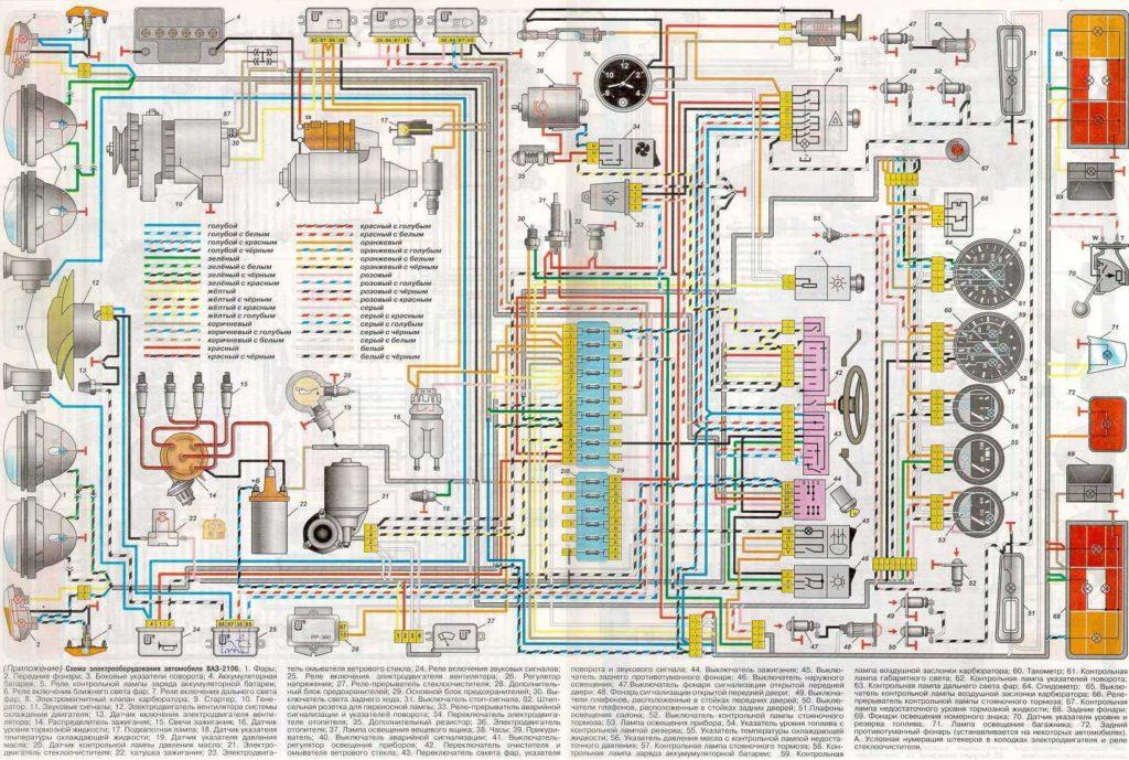 2106 elektromos kapcsolási rajz