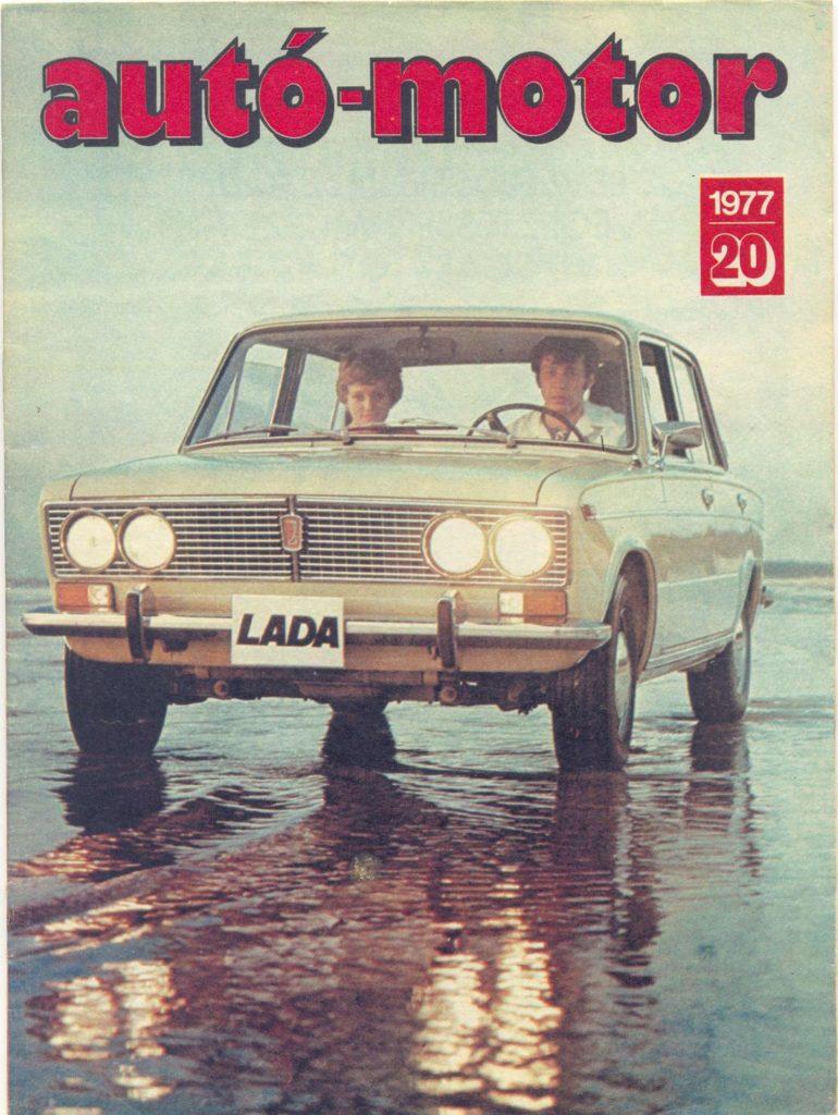 Korabeli autó motor cikk 1977.20