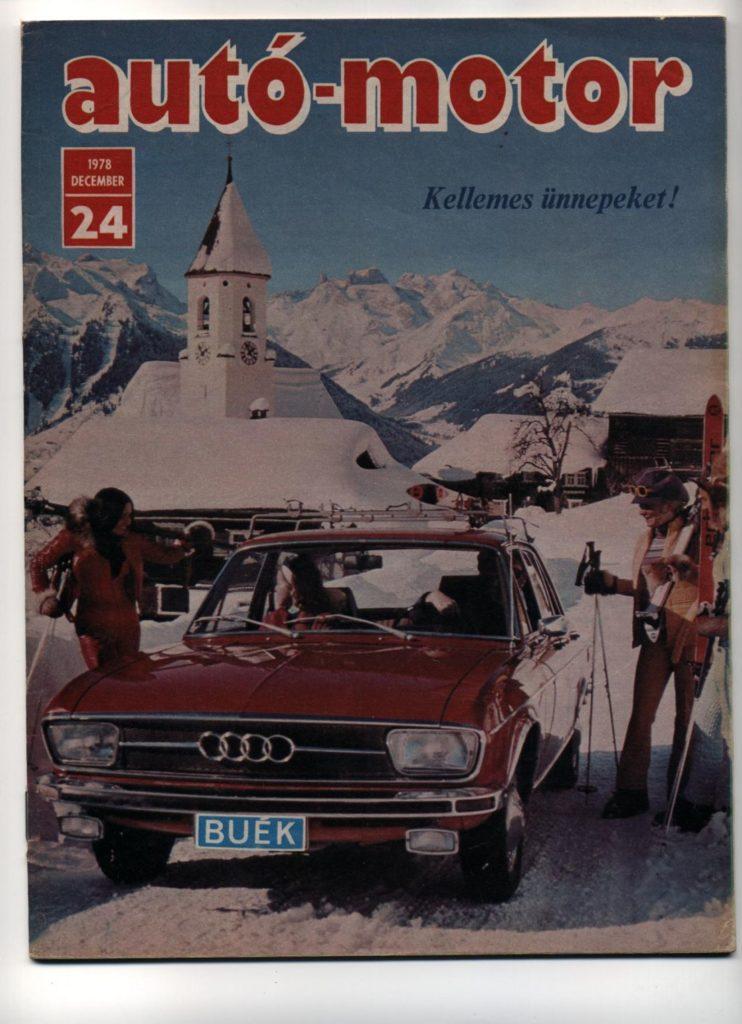 Korabeli autó motor cikk 1978.12.24