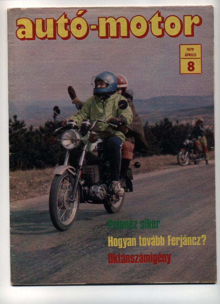 Korabeli autó motor cikk 1979.04.08