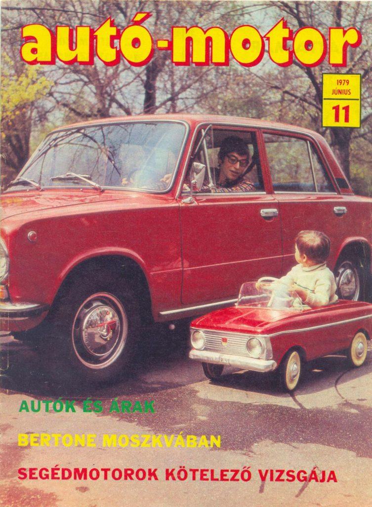 Korabeli autó motor cikk 1979.06.11
