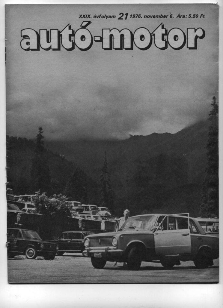 Korabeli autó motor cikk 1976.10.06