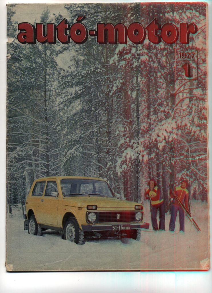 Korabeli autó motor cikk 1977.01